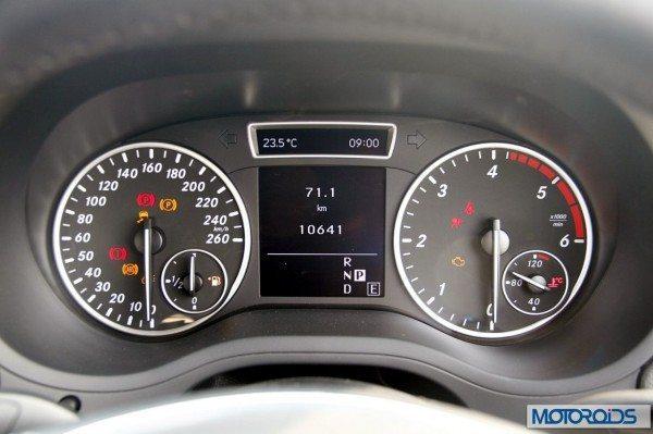 Mercedes B Class B180 CDI Interior (25)
