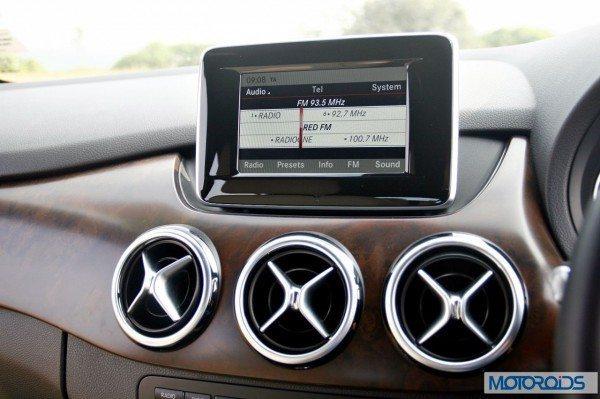 Mercedes B Class B180 CDI exterior