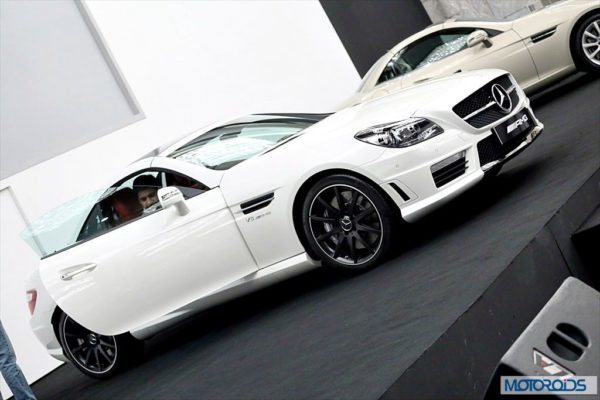 Mercedes SLK55 AMG Exterior and Interior launch images India (1)