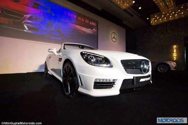 Mercedes SLK55 AMG Exterior and Interior launch images India (34)