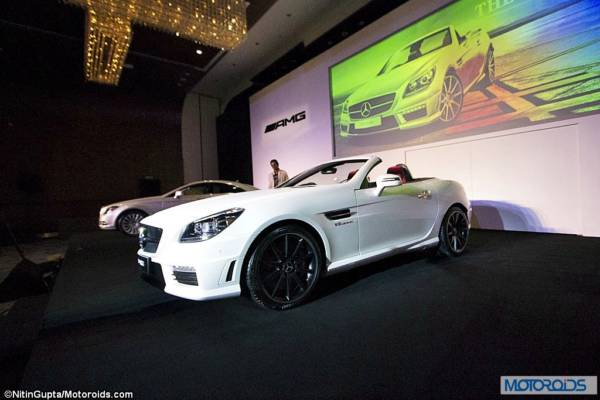 Mercedes SLK55 AMG Exterior and Interior launch images India (35)