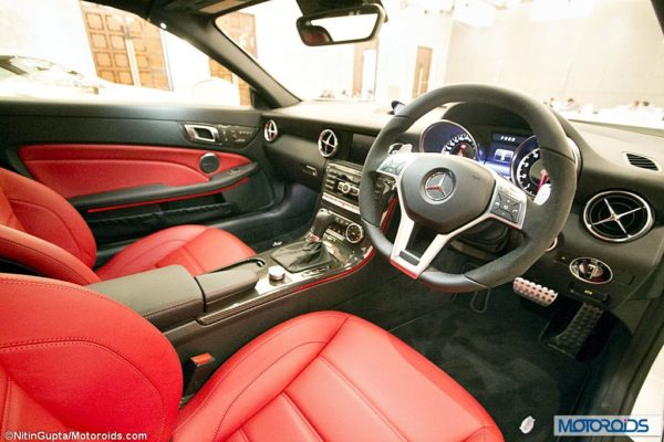 Mercedes SLK55 AMG Exterior and Interior launch images India (38)