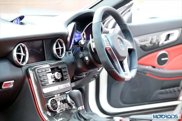 Mercedes SLK55 AMG Exterior and Interior launch images India (5)