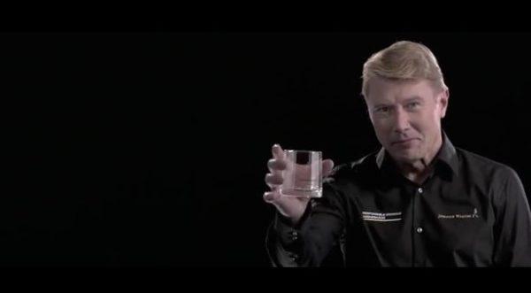 Mika hakkinen drink responsibly