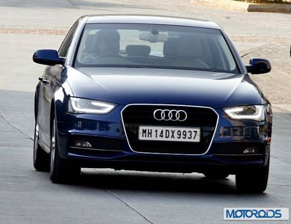 New 2014 Audi A4 with 177bhp