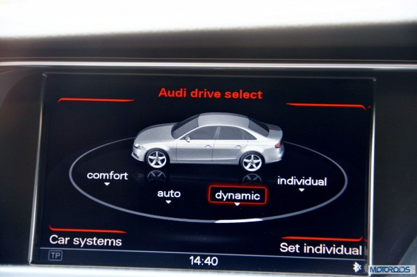 New 2014 Audi A4 with interior India (24)