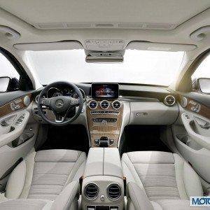 New 2015 Mercedes C Class Interior (5)