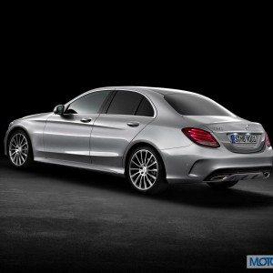 New 2015 Mercedes C Class exterior (16)