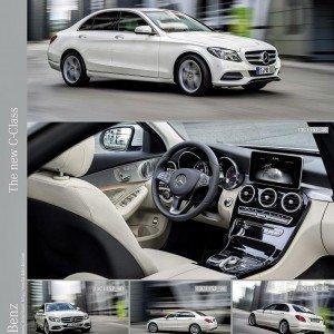 New 2015 Mercedes C Class exterior (19)