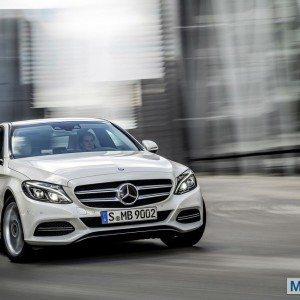 New 2015 Mercedes C Class exterior (6)