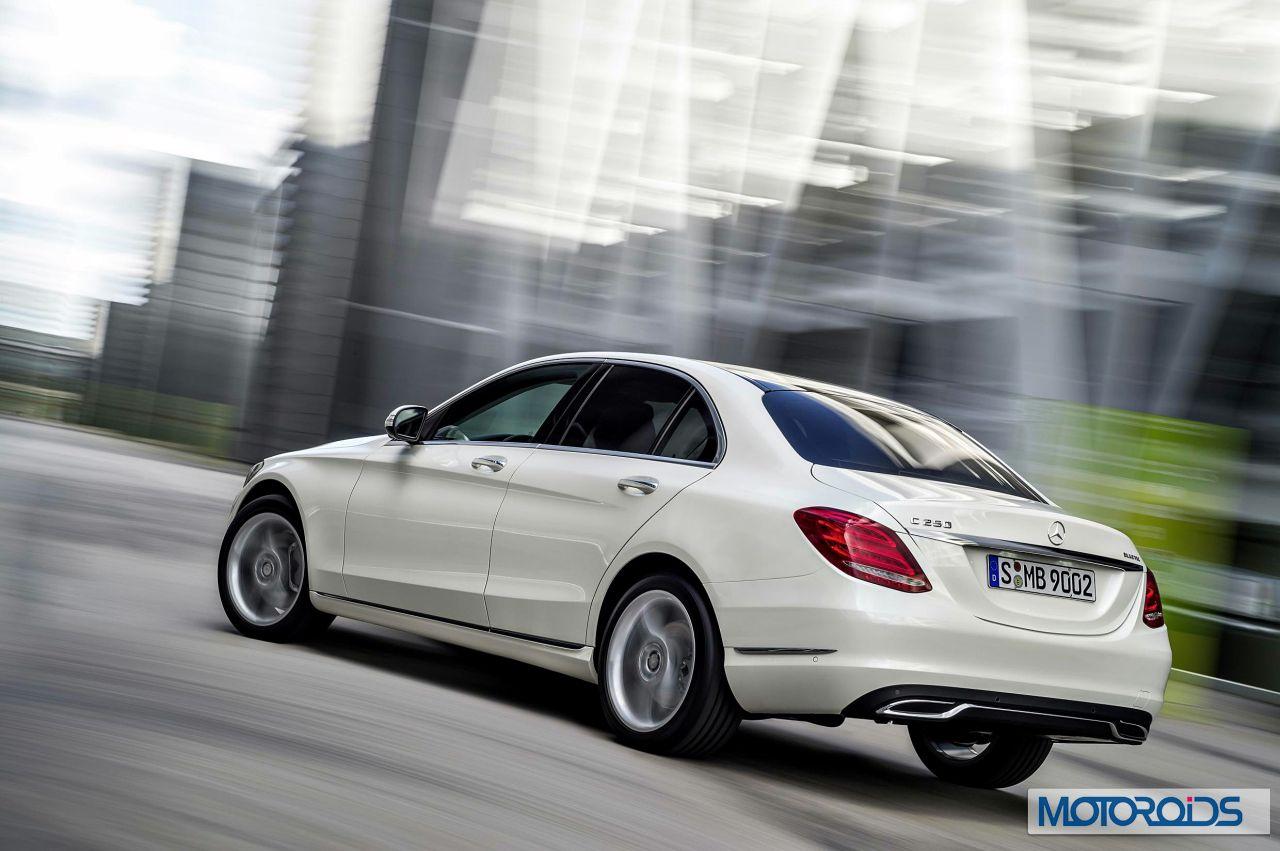 New 2015 Mercedes C Class exterior (7)