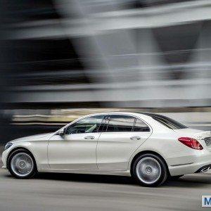 New 2015 Mercedes C Class exterior (8)