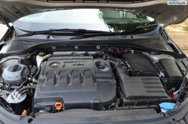 New-Skoda-Octavia 2.0 TDI engine