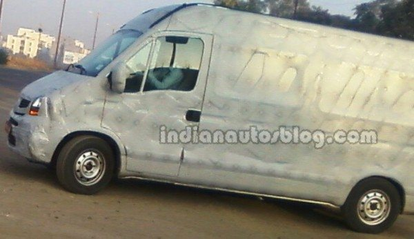 Upcoming Next Gen Tata Winger Spied in Pune
