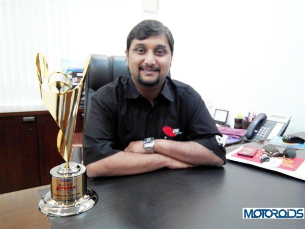 Shirish Kulkarni- Chairman, DSK Motowheels Hyosung (1)