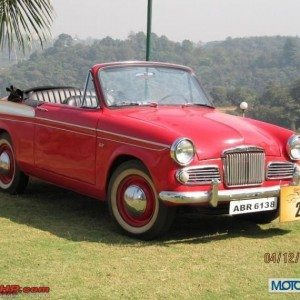Sunbeam Rapier Harit Vintage Car Rally Lavasa