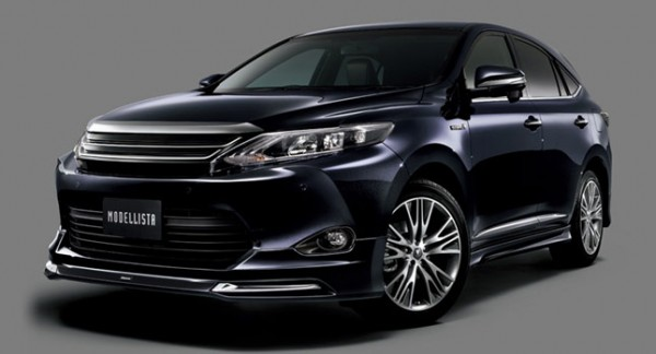Toyota Harrier headed to 2014 Tokyo Auto Salon