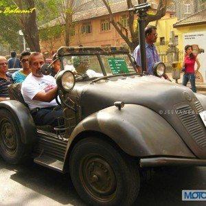 VW Tempo Badamikar Vintage Car Rally Lavasa