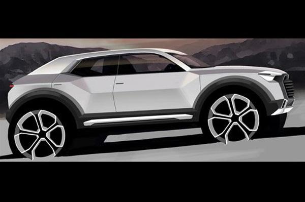 Audi Q1 crossover coming in 2016