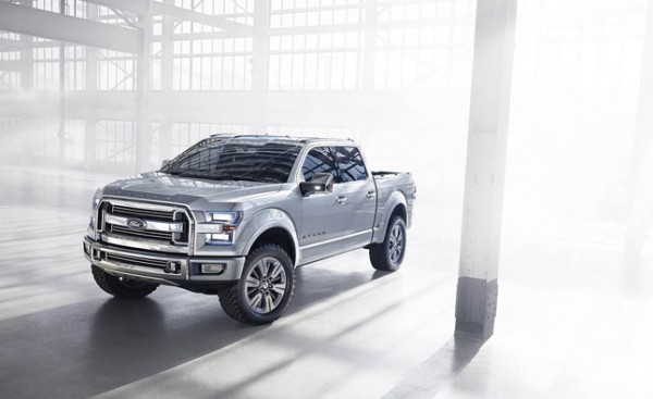 Detroit debut for Aluminum bodied 2015 Ford F-150