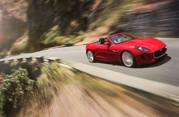 jaguar f type convertible of the year