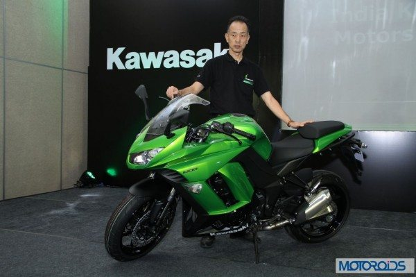 kawasaki Ninja 1000 India launch