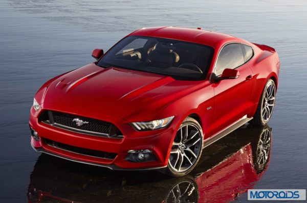 new 2015 Ford Mustang official exterior images (1)