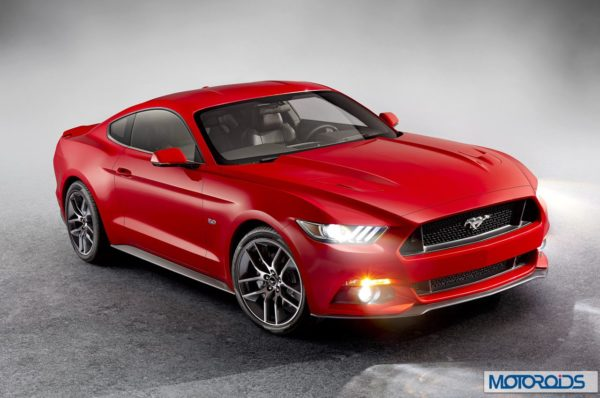 new 2015 Ford Mustang official exterior images (4)