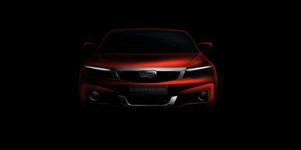 Geneva debut for second Qoros production model. Teased
