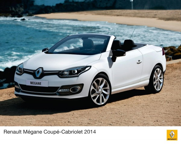 Check out the 2014 Renault Megane Coupe-Cabriolet facelift
