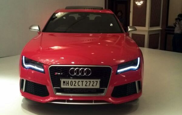 Live From Audi Rs7 India Launch Event Price 1 28 Crores Motoroids