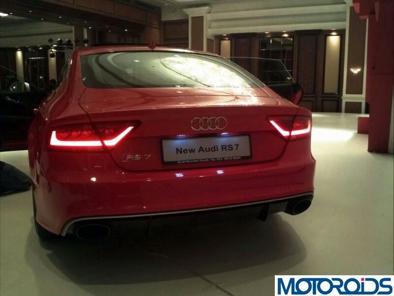 2014 Audi RS7 India