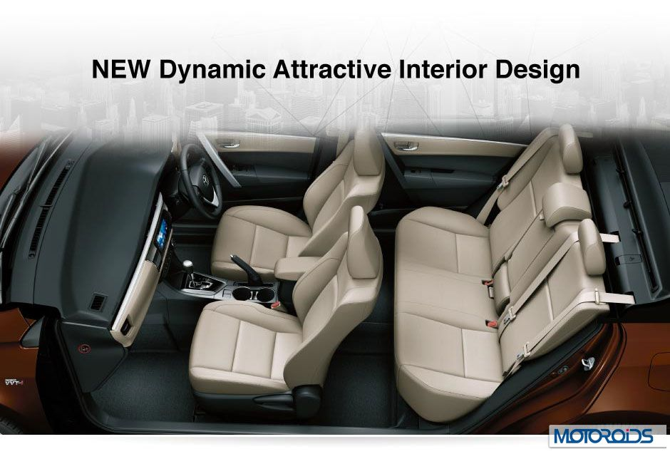 New 2014 Corolla Altis Interior And Exterior Images Features List And Tech Specs Motoroids