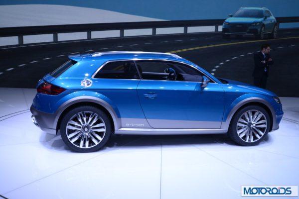 Audi Allroad Shooting Brake NAIAS 2014 Detroit show