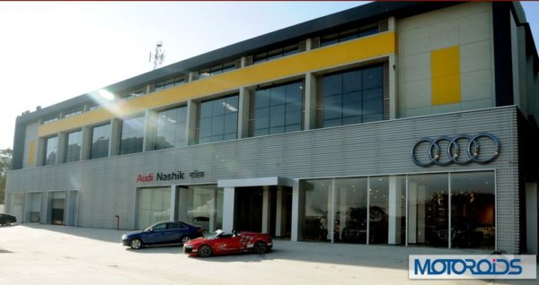 Audi Nashik Showroom