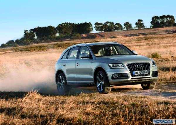 Audi Q5 /Fahraufnahme