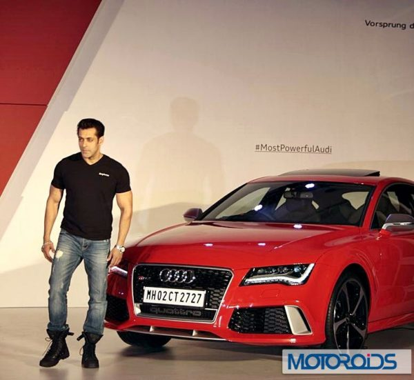 Audi RS7 Image gallery - Audi RS7 India launch exterior with Salman Khan