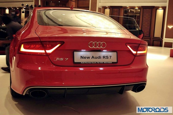 Audi RS7exterior and interior images from the India launch