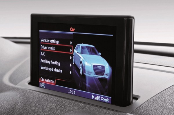 Audi A3 MMI Display/MMI Navigation plus, CAR-Menue