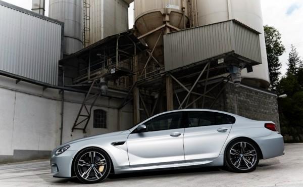 BMW M6 Gran Coupe Auto Expo 2014 (1)