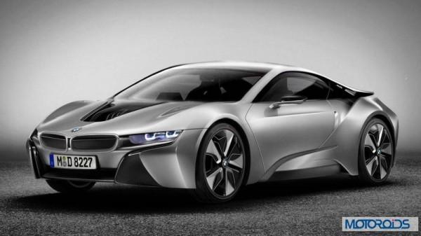 BMW i8 Auto Expo 2014 (1)