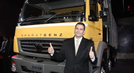 Bharatbenz india new trucks launch