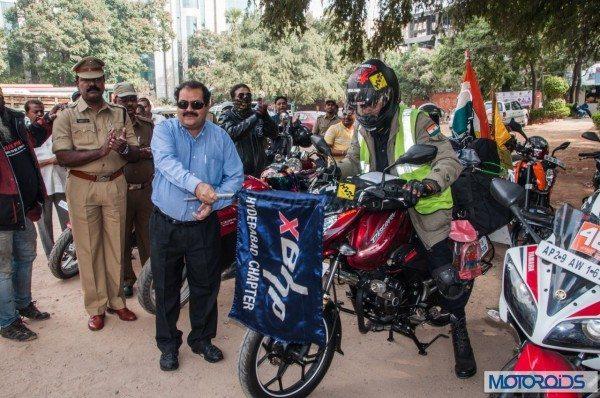 Col MA Kaleem Moochhwaala record ride (4)
