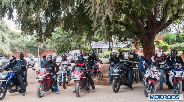 Col MA Kaleem Moochhwaala record ride