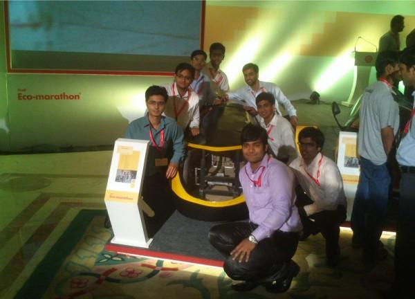 DTU Supermileage team from Delhi Technological University