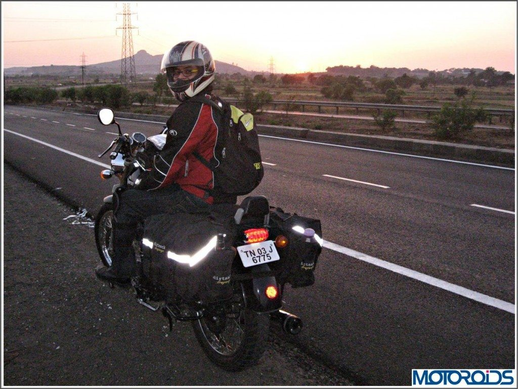 Dirtsack Motorcycle Luggage Reflective Strips