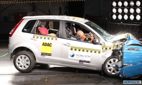 Global NCAP Crash tst Indian Cars _Ford_Figo