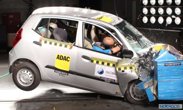 Global NCAP Crash tst Indian Cars _Hyundai_i10