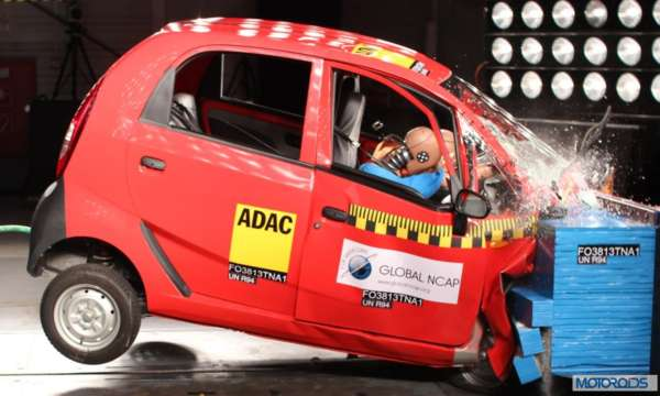 Global NCAP Crash tst Indian Cars _Tata_Nano