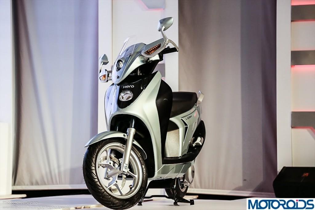 Hero Leap Hybrid Scooter 2014